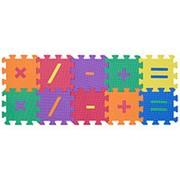 "Коврик-пазл ""Символы-1"", 15х15см, 10 деталей (Funkids), KB-002-10-NT фото"