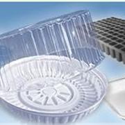 Жесткая пластиковая упаковка для пищевых продуктов и промышленных товаров фото
