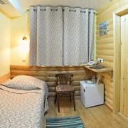 Однокомнатный номер с кроватью Сприн бокс фото