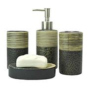 Набор аксессуаров для ванной комнаты фото