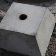 Фундамент для дорожного знака фото