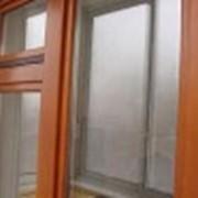 Деревянные окна со стеклопакетом фото