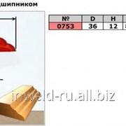 Код товара: 0753 (D36 H12) Фреза фигурная с подшипником (кромочная калевочная) фото