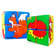 Кубики детские «Собери картинку» фото