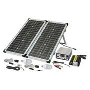 Комплексная система энергоснабжения на СОЛНЕЧНЫХ БАТАРЕЯХ + Резервное питание SOLAR-2.35kW фото