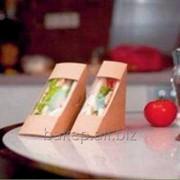 Упаковка для сандвичей Треугольник Сандвич 70 Термо фото
