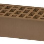 Кирпич облицовочный терракотовый одинарный ГОСТ 530-2012 фото
