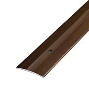 ЛУКА Порог стыкоперекрывающий ПС 03-1350-094 венге (1,35м) 37мм фото