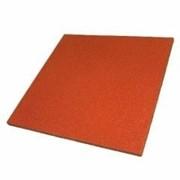 Резиновое порытие для площадок Плитка 500x500 мм, 40 мм фото