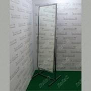 Зеркало напольное 550Lх1774Hx505Dмм, полотно 1500х500мм, рама хром, ST-03 (2 эл. хром) фото