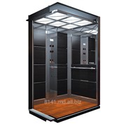 Пассажирские лифты без машинные помещения и с машинные помещения фото