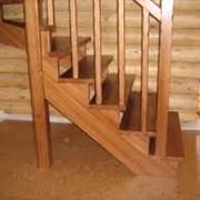 Столбы опорные деревянные фото