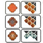 Формы из полимерных материалов для тротуарной плитки фото