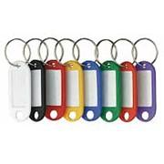 Alko Брелок для ключей ALCO Key Hangers, с инфо-окном, оранжевый, 100 шт/уп 1851-19