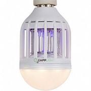 Cветодиодная лампочка ловушка от комаров и насекомых Zapp Light фото