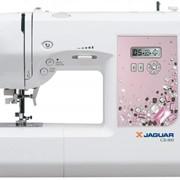 Машины бытовые швейные Компьютеризированная швейная машина JAGUAR CR-800 (100 строчек, 7 видов петель, нитевдеватель, дисплей, работает без педали) фото