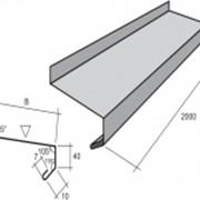 Защита подоконника ЗП1 В 200мм 0,45мм матполиэстер фото