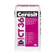 Штукатурка декоративная структурная белая Ceresit CT 36 (25кг) фото