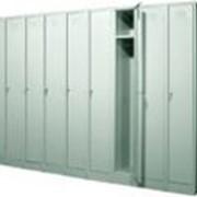 Шкаф из двух боковых секций модульного ряда фото