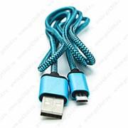 USB Data кабель в тканевой оплетке для Samsung (micro) фото