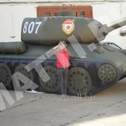 Надувная фигура (пневмофигура) – надувной танк Т-34 фото