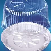 Упаковка для тортов ИП-215 К+ДН фото