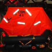 Плот спасательный надувной речной 6-ти местный C-pack, сертификат РРР