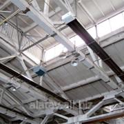 Промышленные газовые инфракрасные обогреватели фото