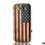 Чехол пластиковый для HTC Sensation XL флаг США фото