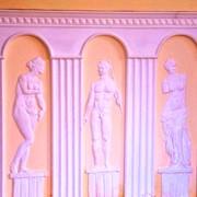 Нанесение лепного декора, декор стен, барельеф, Севастополь, Крым фото