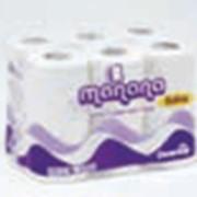 Туалетная бумага двухслойная Manana артикул 70022292 фото