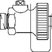 "Комплектующие набор 1=1 F+E шар.кран для рег.вентиля ""Hydrocontrol"" Артикул №: 1060191 фото"