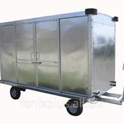 Тележка багажная крытая ТГК-2000-04 фото