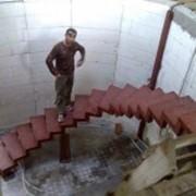 Криволинейные лестницы фото