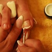 Покрытие ногтей биогелем Френч