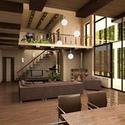 Дизайн интерьера загородных домов фото