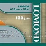 Матовая бумага Lomond 610мм X 30м *50 ролик для плоттера САПР и ГИС 120г (1202025) фото
