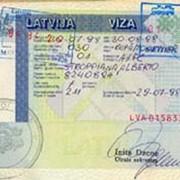 Виза в Латвию фото