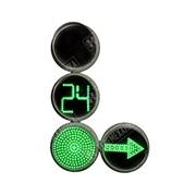 Светофор транспортный светодиодный с круглыми секциями Т 1.II фото