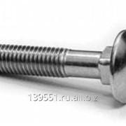 Винт DIN 7985 полукруглая головка, крестообразный шлиц M3x16, А2 фото