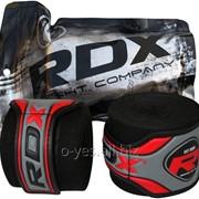 Бинты боксерские RDX Fibra Black 4.5m фото