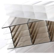 Сотовый поликарбонат с защитой от ультрафиолетового излучения фото