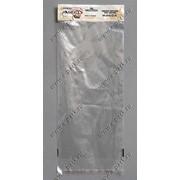 Пакет ВОРР с усиленным белым еврослотом с клапаном с клеющей лентой фото