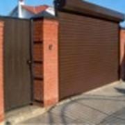 Ворота рулонные фото