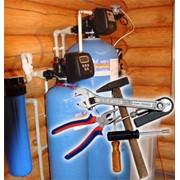 Монтаж и установка систем водоочистки фото