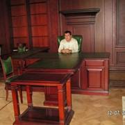Мебель на заказ из ценных пород дерева фото