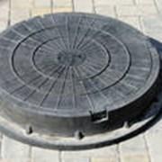 Люк Легкий полимерно песчаный фото