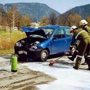Продукт для экологического обезвреживания и устранения масляных и жирных следов на дорожных покрытиях BIOVERSAL FW фото