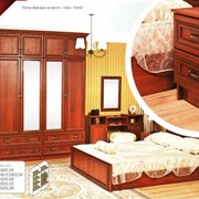 Спальный гарнитур Лотос люкс фото