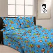 Ткань постельная Бязь 125 гр/м2 150 см Набивная цветной 3328-2/S504 TDT фото